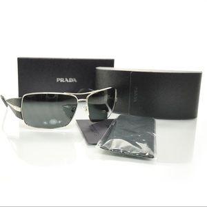 PRADA Saffiano Black Sunglasses SPR 55H